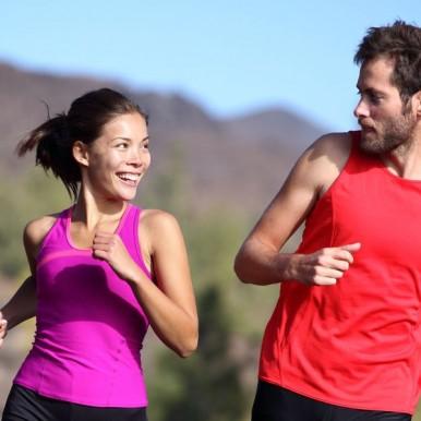 Die Laufbewegung Natural Running gewinnt immer mehr Anhänger
