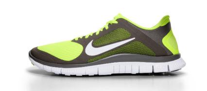 Das Bild zeigt das Barfußschuh-Modell Nike Free 4.0.