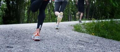 On Running Schuhe setzen auf Dämpfung und sind daher gut geeignet für den Asphalt.