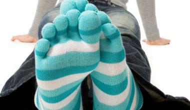 Zehensocken: Handschuhe für die Füße