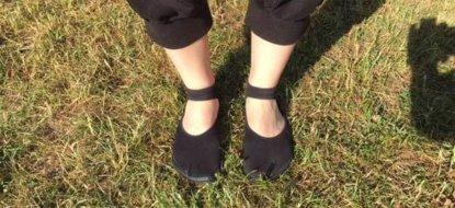 Leguano Ballerina im Test – Der schicke Sockenschuh