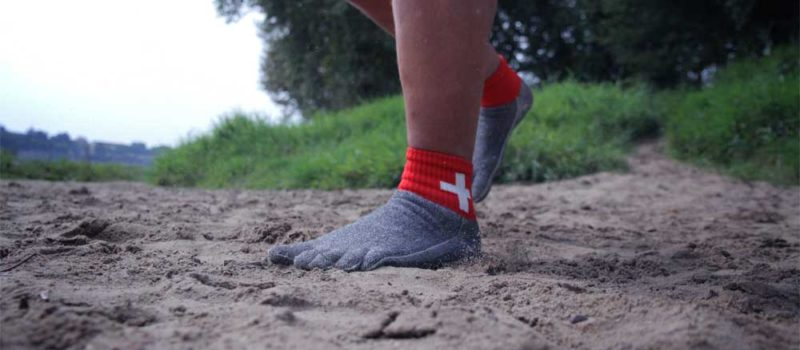 Free your Feet (FYF-Socks): Zehensocken als Schuhersatz