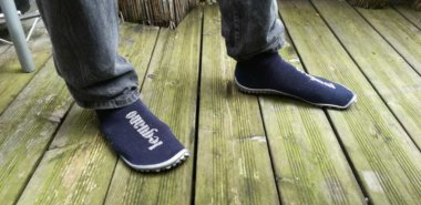 Leguano Socken bzw. Sockenschuhe im Test