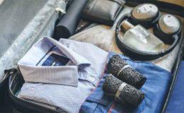 Dank des kleinen Pakmaßes lassen sich Skinners Socken wunderbar platzsparend im Reisegepäck verstauen. © Skinners