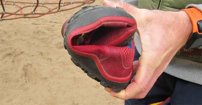 Der Trail Soft Ground: Trotz mehr Support ist der Trailschuh sehr biegsam