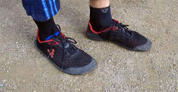 Der Vivobarefoot Stealth ist auch nach drei Jahren immer noch in einem sehr guten Zustand