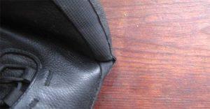 Der Sole Runner Devaki ist gut verarbeitet. Nur am rechten Schuh hat sich an einer kleinen Stelle die Verklebung etwas gelöst.