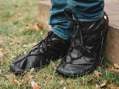 Hoer der FlexToes von Joe Nimble in schwarz