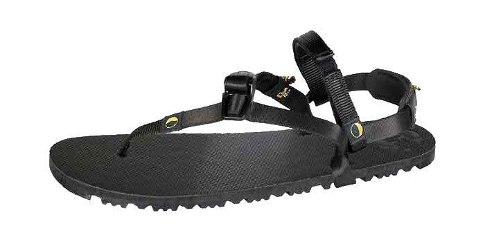 Eine Barfuß-Sandale von Luna Sandals in schwarz