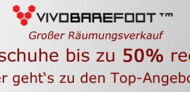 Sale bei Vivobarefoot – bis zu 30% reduziert