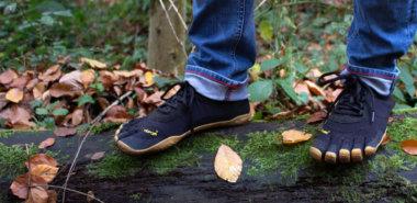Zehenschuhe: Barfußschuhe in Fußform
